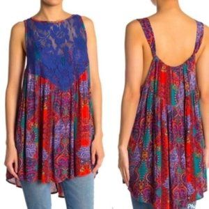 Free People Count Me In Trapeze Top - S,  NWT
